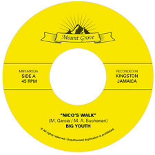 "Big Youth ""Nico's Walk"" / ""The Day is Dawning"" 7"" Reggae Roots  Rocksteady"