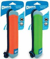 Chuckit Amphibious Bumper Fetch and Float Toy 2 Sizes Assorted Colors