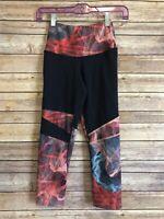 North Face Capri Pants Size XS Women Navy Blue Athletic Yoga Flashdry Bottoms
