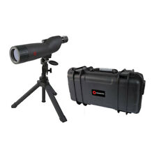 Simmons 846060S 20-60x 60mm Waterproof Shooting Spotting Scope with Bipod & Case