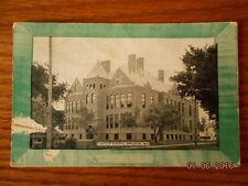 Appleton Wisconsin Lincoln School 1909 postcard