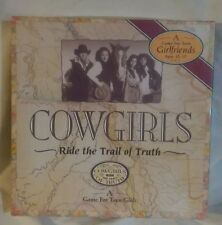 Cowgirls Ride the Trail of Truth - A Game for Teen Girlfriends