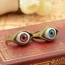 Vintage Retro Punk Rings Exaggerated Vampire Eye Rings Women Men Jewelry Fashion