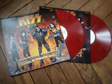 KISS Psycho circus world tour vol 1 & 2 2LP Live Rutherford USA 98 Vinyl couleur