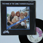 """Vinyle 45T Abba """"The name of the game"""""""
