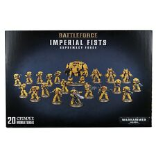 Space Marines Imperial Fists Supremacy Force Warhammer 40k