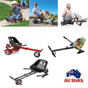 Hover Go Kart Cart Seat Adjustable Holder Stand Self Balance Hoverboard AU