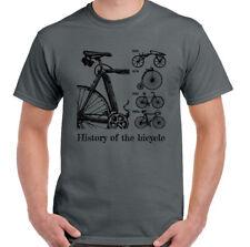 Historia de Bicicleta Hombre ciclismo Camiseta Moto Bici Montaña RACER BMX ROAD