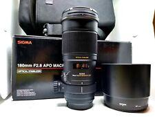 Sigma 180mm Macro f 2.8 EX DG OS HSM per Canon EF
