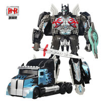Transformers Optimus Prime The Last Knight BMB H6001-1Black Action Figure In Box