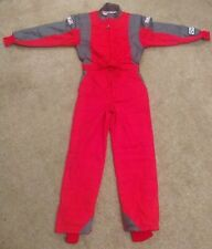 G-Force GF745 NEW ONE PIECE Racing Suit RED SMALL SFI 3.2A/5 Fire Rated Nomex