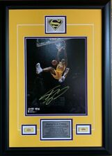 Shaquille O'Neal Los Angeles Lakers Signed 11x14 Spotlight Dunk Photo Framed NBA