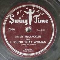 Hear! Blues 78 Jimmy Mccracklin - I Found That Woman / Blues For The People On S