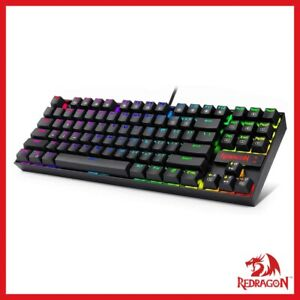 Redragon K552 Mechanical Gaming Keyboard RGB LED Rainbow Backlit Wired Keyboard