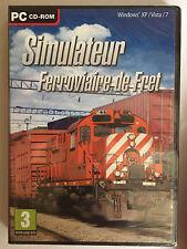 Simulateur ferroviaire train de fret JEU PC NEUF SOUS BLISTER Train Simulator