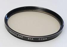 (PRL) FILTRO HOCHGLANZ 81A 62mm FILTER FILTRU FILTRE FILTAR PHOTO FOTOGRAFIA