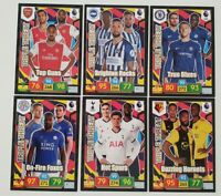 2019/20 Panini Premier League EPL Soccer Cards - Set of 6 Triple Threat cards