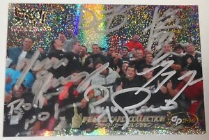 Kazushi Sakuraba Royce Gracie +4 Signed 2006 Pride FC Holo Foil Card 92 UFC Auto