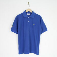Vintage 80s Chemise Lacoste Cotton Polo Shirt XL Made In France Izod 4864