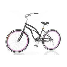 "26"" Lixada vintage Women's Cruiser Bike, Black, Beach Bicycle PRO H2E2"