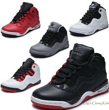 60e7e7a2634b Boys Girls High Top Sneakers Tennis Shoes Basketball Youth Kids Athletic New