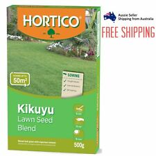Hortico Kikuyu Lawn Grass Seed Blend 500g Covers Up To 50m2 Sun/Shade