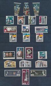 XC89952 Malta mixed thematics nice lot of good stamps MNH