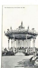 SOUTHEND-ON-SEA  -  THE BANDSTAND B&W  POSTCARD