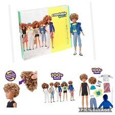 Creatable World Deluxe Character Gender Neutral Doll Blonde Curly Hair dc-220⚡️