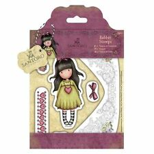 Gorjuss Heartfelt Doll Stamp Set by Santoro London