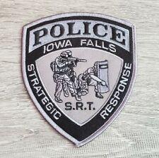 Iowa Falls Iowa Police Strategic Response Team Shoulder Patch
