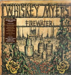 WHISKEY MYERS FIREWATER DOUBLE LP VINYL Double Vinyl Issued On Vinyl in the UK F