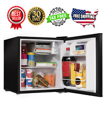 1.7 cu ft Compact Refrigerator Black Galanz Mini Fridge Kitchen Dorm Bedroom