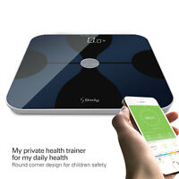 Smart Body Fat Composition Scale with iOS & Android App for Body Weight & BMI