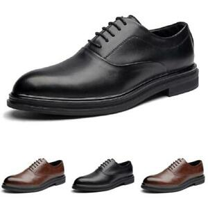 Mens Oxfords Work Office Wedding Party Dress Formal Business Leisure Shoes Hot L