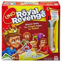 Uno Royal Revenge Card Game NEW