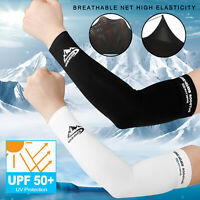 1 Pair Ice Cooling Arm Sleeves UV Sun Protection Cover Sports Golf For Men Women
