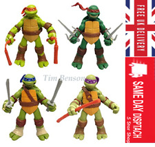 Teenage Mutant Ninja Turtles Action Figures Tmnt Classic Collection toy 4pcs- Uk