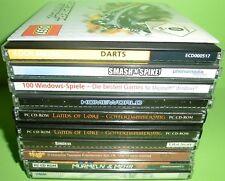 10 Stk. PC Spiele Sammlung / Konvolut (Darts, Homeworld,...)