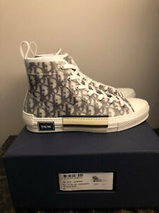 Dior B23 High Top Oblique Sneakers New with Box