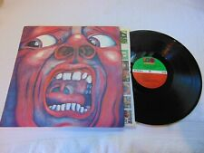 KING CRIMSON IN THE COURT OF THE CRIMSON KING ATLANTIC BROADWAY 1969 PSYCH LP VG