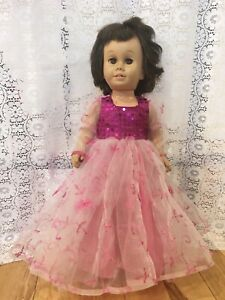 """Fits 19"""" 20""""  Cathy Doll Clothes Pink Party Princess Dress Ball Gown"""