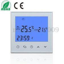 AC 200-240V Digital Room Temperature Controller Thermostat Touch LCD Display NTC
