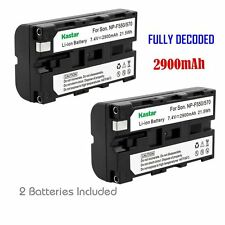 2x Kastar Battery for Sony NP-F570 CCD-TR76 CCD-TR87 CCD-TR97 CCD-TR200 CCD-TR30