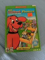 Clifford the Big Red Dog: Phonics PC Game Windows XP BRAND NEW