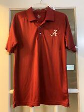 knights apparel mens university of alabama roll tide golf shirt red polo MED