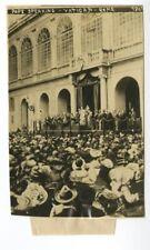Pope Pius X - The Vatican, Rome - Early 1900s Original Press Photograph