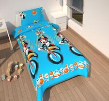 Housse de couette Taie oreiller enfant Disney Mickey 140 x 200 cm