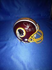 JOE GIBBS signed WASHINGTON REDSKINS mini helmet  with COA