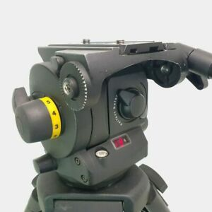Vinten Vision 100 with pan bar and camera plate - BLACK in excellent condition.